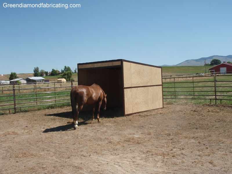 12x12_horse_loafing_shed