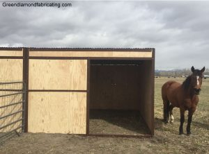 horse shed