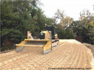 Caterpillar D5 Spreader Box for gravel