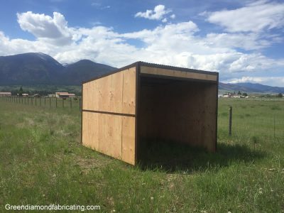 horse shelter kits